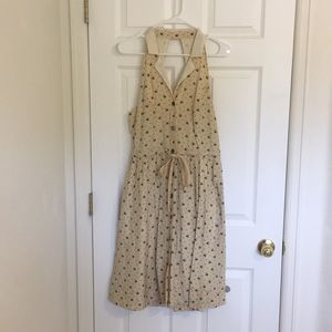 Anthropologie bumble bee summer dress